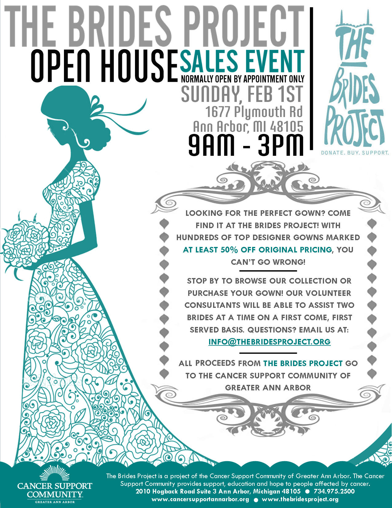 The Brides Project Open House Feb. 2015