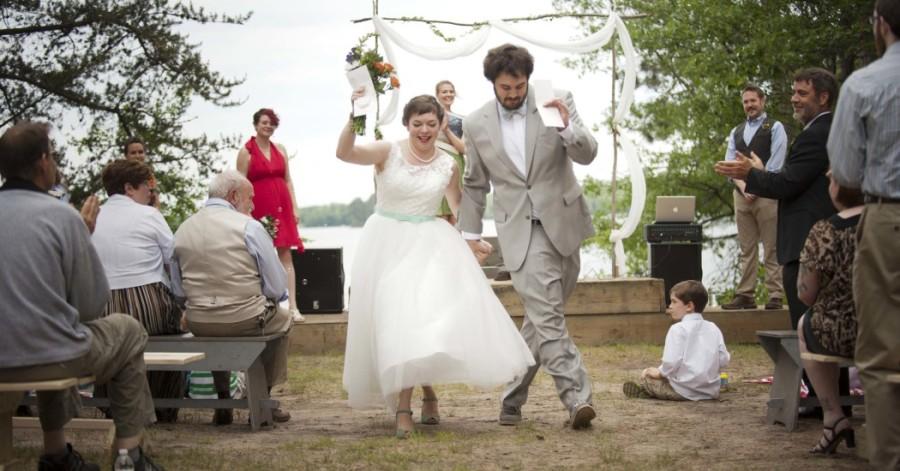 Meg & Ben's Wild Michigan Wedding